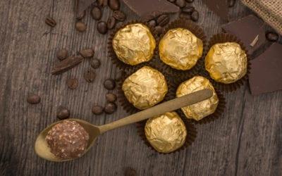 Ferrero Rocher in Makro-vestigingen tijdens de feestdagen